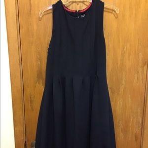 Vince Camuto Sleeveless Navy Dress - 14